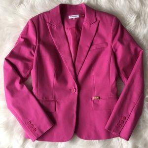 CALVIN KLEIN Pink Blazer
